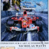 Monaco '05 Michael Schumacher Poster by Nicholas Watts