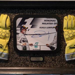 Nico Rosberg Autographed C