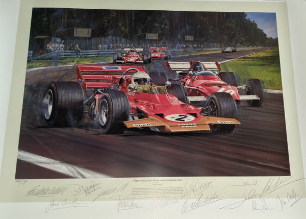 Tribute to Jochen Rindt - World Champion 1970