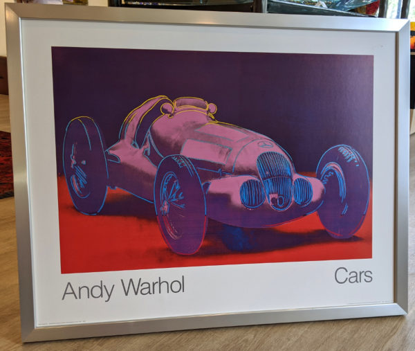 Andy Warhol Cars Framed Poster