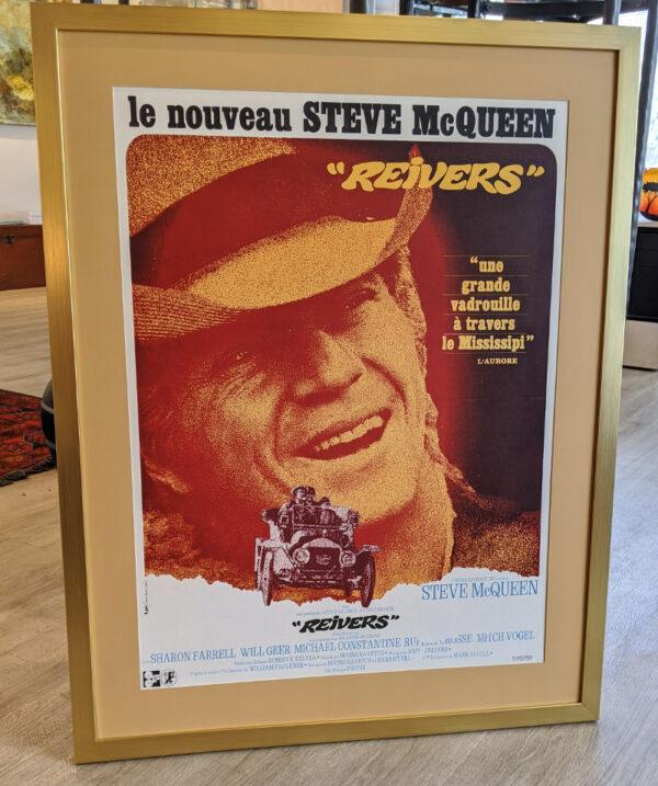 Steve McQueen Reivers - Framed Poster