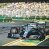 Bottas 2019 Victory Australian GP Signed Photo