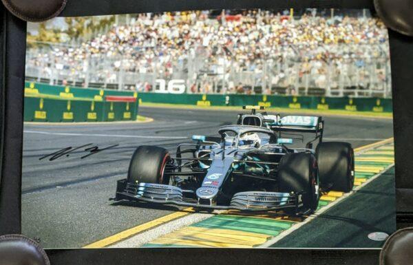Bottas 2019 Victory Australian GP Signed Photo