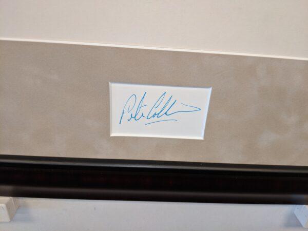 Peter Collins Autograph Detail