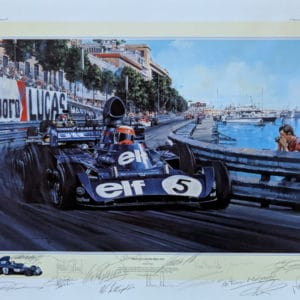 Monaco GP 1973 14 Signatures - Nicholas Watts