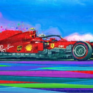 Charles Leclerc - Party Mode - Alan Greene